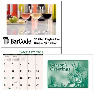 Custom Printed Home Recipe Desk Calendars