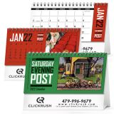 Custom Printed Saturday Evening Post Desk Calendars