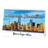 2017 American Landmarks Desk Calendars