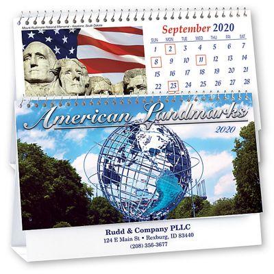 2019 American Landmarks Desk Calendars