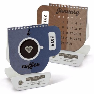 2018 I Love Coffee Desk Calendars