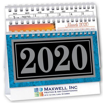 2018 Marble Deluxe Desk Calendars