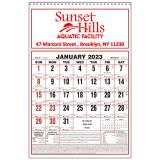 Custom Imprinted 2017 Large Almanac Wall Calendars