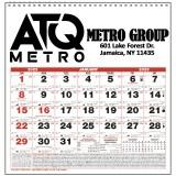 Custom Imprinted 2017 Small Almanac Wall Calendars