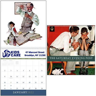 Custom Imprinted 2019 The Saturday Evening Post Calendars