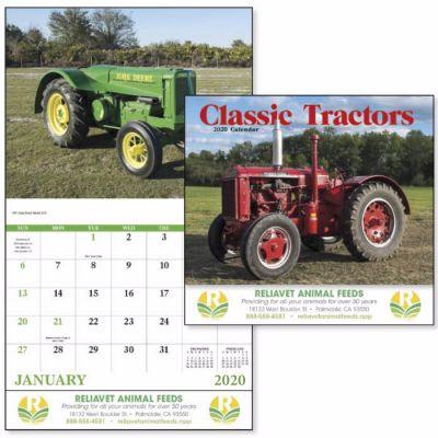 Custom Printed 2018 Classic Tractors Wall Calendars