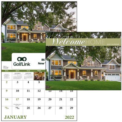 Custom Printed 2018 Welcome Home Window Calendars