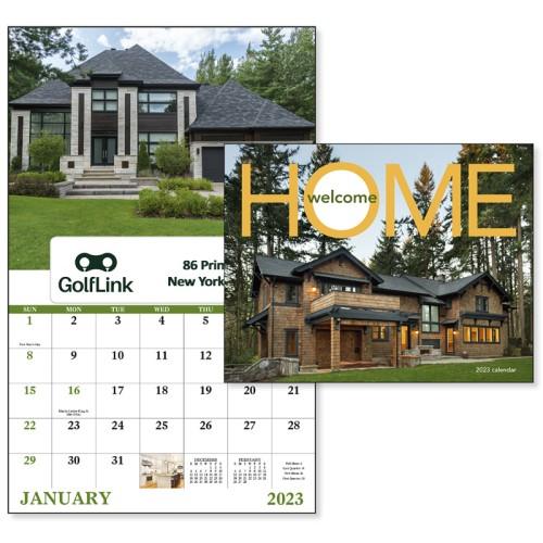 Welcome Home 2020.Custom Printed 2020 Welcome Home Window Calendars