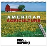 Custom Printed 2018 American Agriculture Spiral Wall Calendars
