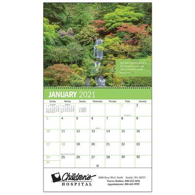 Custom Printed 2019 Inspiration Spiral Wall Calendars