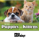 Customized Puppies and Kittens Stapled Wall...