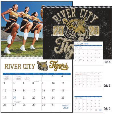 Personalized Small Quantity Spiral Calendars