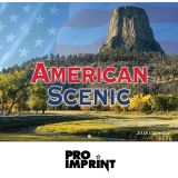 Promotional 2017 American Scenic Stapled Wall...