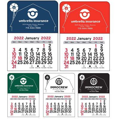 2020 Barn Vinyl Adhesive Mini Stick Calendars