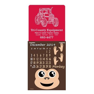 Custom Paws N Claws Super-Size Press-N-Stick Calendars
