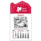 Promotional Press-N-Stick Cowboy Calendar Pads
