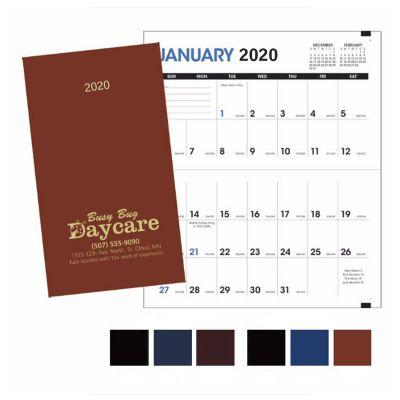 Custom Imprinted 2018 Monthly Pocket Planner