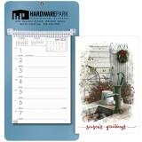 Custom Printed 2020 Calendar Weekly Memo Planner