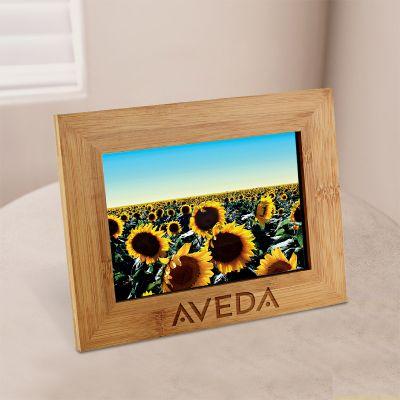 4 x 6 Inch Customized Bamboo Photo Frames