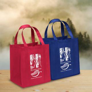 Custom Printed Big Thunder Non Woven Tote Bags