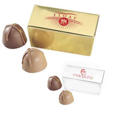 Promotional Chocolate Truffles in Ballotin Box