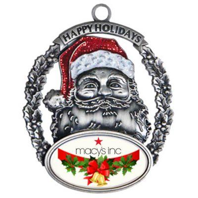 Promotional Express Santa Holiday Ornaments