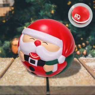Promotional Logo Santa Claus Stress Balls