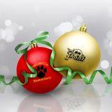 Promotional Shatter Resistant Ornaments - 8 Colors