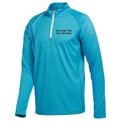 Personalized Mens Puma Golf Long Sleeve Polo Shirts