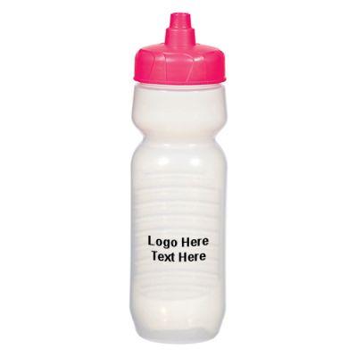 Promotional 26 Oz Pink Awareness Barkley Gripper Bottles