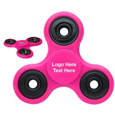 Promotional Pink Awareness Fidget Spinners