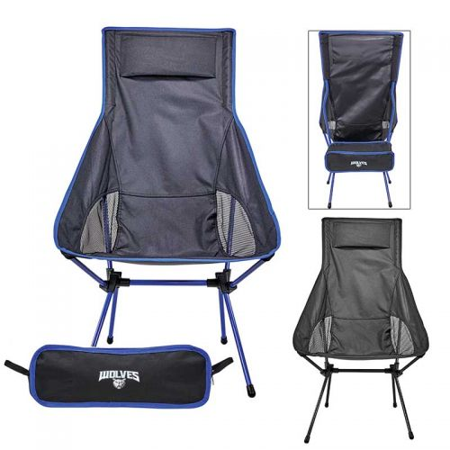 Superb Custom Imprinted Ultra Portable Compact Highback Chairs Alphanode Cool Chair Designs And Ideas Alphanodeonline