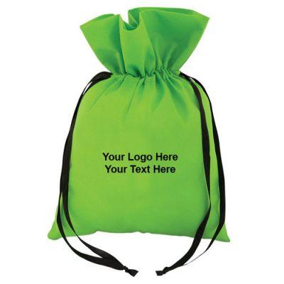 Customized Non Woven Ribbon Gift Totes