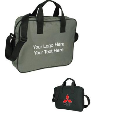 Customized Economy Zippered Portfolio Bags