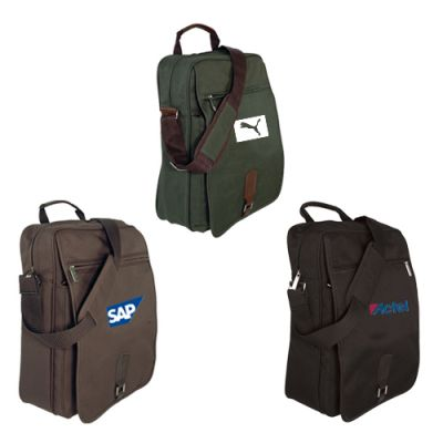 Custom Upright Laptop Messenger Bags