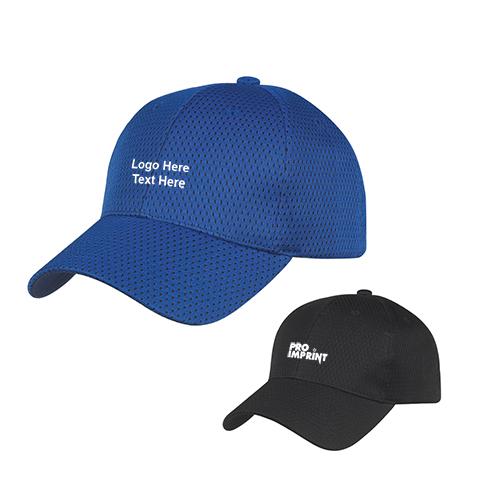 997bc6642 Custom Logo Imprinted Jersey Mesh Caps