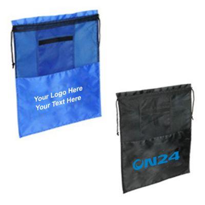 Custom Travel Drawstring Shoe Bags