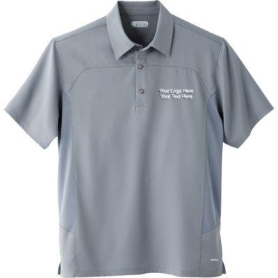 9684e7942 Promotional Men's Yabelo Hybrid Short Sleeve Polo Shirts - Short Sleeve