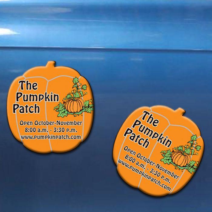 Halloween Pumpkin Shape Magnets 20 Mil
