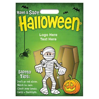 Custom Printed Halloween Metallic Bags