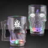 Custom Printed Light Up Skull Halloween Party Mugs