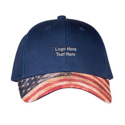Promotional Logo Patriotic 6-Panel Hat