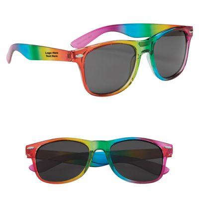 Promotional Rainbow Malibu Sunglasses