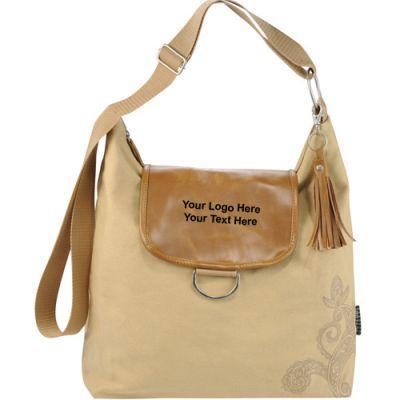 Custom Printed Slouch Hobo Tote Bags