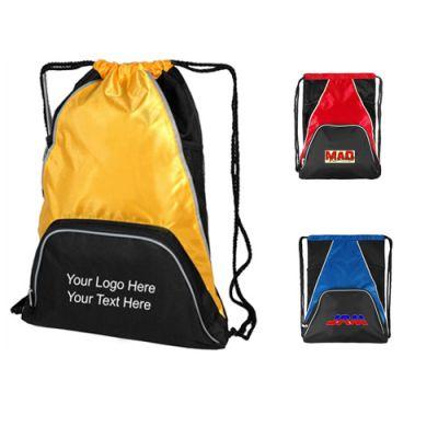 Customized Multi-pocket Designer Sport Drawstring Backpacks