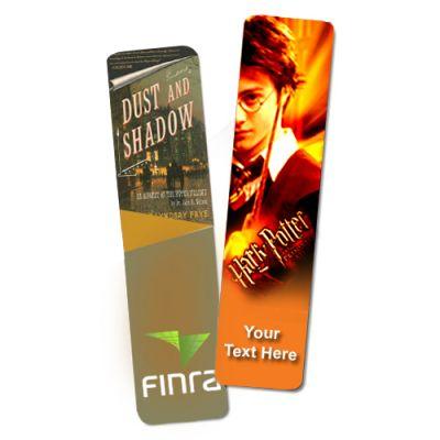 1.5 x 6.25 Inch Custom Laminated Bookmarks