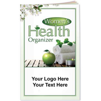 Logo Imprinted Better Books - Women's Health Organizer