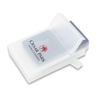 Custom Printed Plastic Business Card Holders
