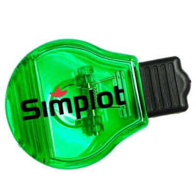 Jumbo Size Light Bulb Shape Memo Clips