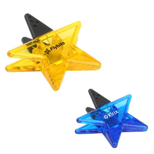 custom printed super star power clips